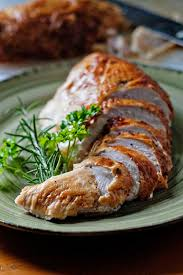 the moistest most tender turkey breast if a whole turkey