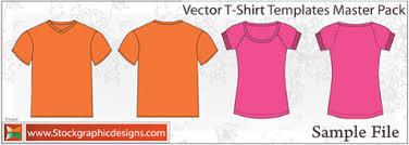 vector t shirt template main jpg