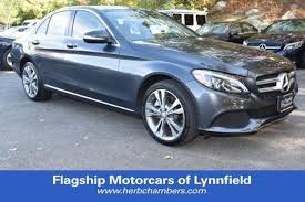 mercedes herb chambers certified used 2015 mercedes c class for sale in boston ma