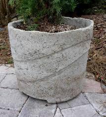 homemade planters diy concrete planters diy concrete and reuse