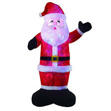 Outdoor Inflatables 8ft Large Airblown Santa Décor Inflatables