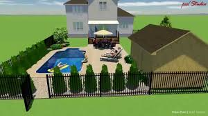 12 x 24 rectangle inground pool design rideau pools ottawa youtube