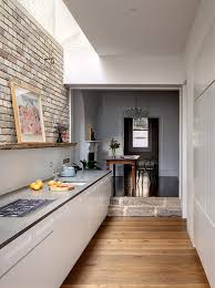 galley kitchen extension ideas home dzine kitchen kitchen goes from and dingy to light and mod