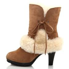 ugg heel boots sale ugg lace high heel boots 5108 overstock ugg boots for