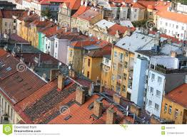 beautiful old houses in prague stock photo image 45956741