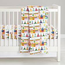 Flannel Crib Bedding Artist Collection Crib Baby Bedding And Crib Sheets