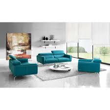 sprint leather 3 pc sofa set creative furniture modern manhattan