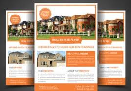 property brochure template free 20 free download real estate flyer
