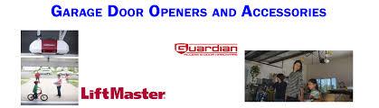 guardian garage door opener garage door openers aaa doorteks