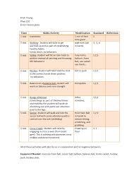 floor hockey unit plan 8 adapted mini pe lessons