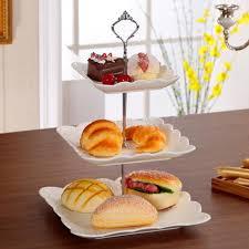 3 tier stainless steel round cupcake stand wedding birthday cake