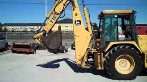 john deere 710k backhoe loader jd construction equipment