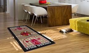 44 off on nba 2 u0027x4 u0027 printed runner rugs groupon goods