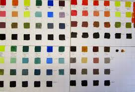 friends of art manchester color charts for painters