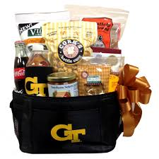 tech yellow jackets gift basket