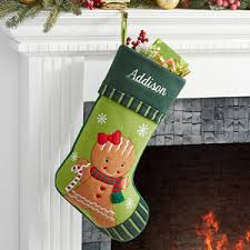 christmas stockings sale personalized christmas stockings gingerbread girl christmas gifts