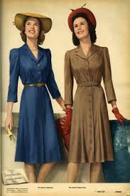1940s dresses the 1940s day dress gingermegs vintage