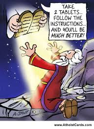 moses get well card atheist cards