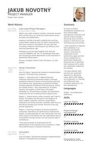 Project Manager Resume Samples And by Resume Examples Resume And Business On Pinterest