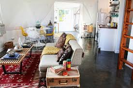 an artist couple s dome house in the mojave desert adventure journal the smirkes brought the desert indoors with potted desert plants reclaimed wood items made from material they found in the surrounding lands and textiles