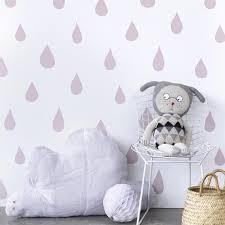 Wallpaper For Children Raindrops Wallpaper For Children U2013 Hibou Home