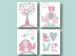 kinderzimmer grau rosa rosa türkis und grau kunstdruck kinderzimmer kinderzimmer