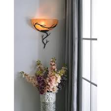 Bronze Wall Sconce Design Craft Long Branch 1 Light Blackened Bronze Wall Sconce