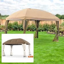 14x14 Outdoor Gazebo by Menards Gazebo Replacement Canopy Garden Winds