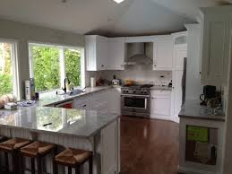 white l shaped kitchen with island kitchen spectacular black and white l shaped kitchen designs for