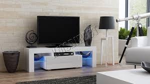 Computer Desk Tv Stand by Foxhunter Modern High Gloss Matt Tv Cabinet Unit Stand Amazon Co