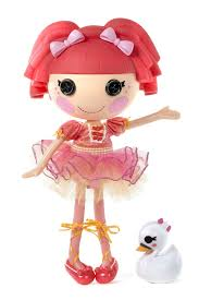 lalaloopsy loopy hair 85 lalaloopsy loopy hair tippy tumblelina doll brand new