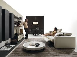 modern living room black and white interior design
