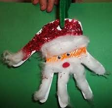 best 25 santa ornament ideas on santa handprint