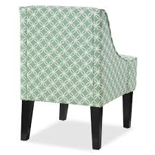 Seafoam Green Chair by Charlotte Swoop Arm Accent Chair