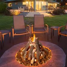 Fire Pit Gas Ring by Natural Gas Outdoor Fireplaces U0026 Fire Pits You U0027ll Love Wayfair