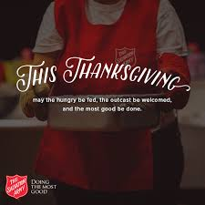 thanksgiving the salvation army of northwest arkansas