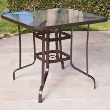 Table Patio Glass Patio Table Sgwebg