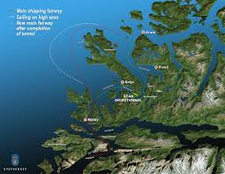Ups Shipping Map Norway Plans Ship Tunnel U2013 Dc Velocity