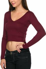 crop top sweater 2ne1 apparel sweater crop top from san diego by branded shoptiques