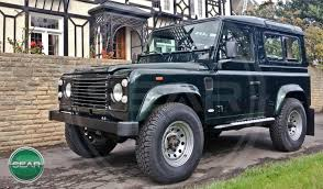 custom land rover defender sear motor holdings completed and sold defender vehicles