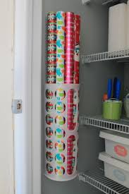 christmas door wrapping paper 12 smart gift wrap storage ideas