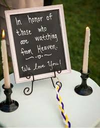 for your wedding just because your deceased loved ones can t be with you on your