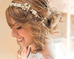 hair accessory wedding hair wreaths tiaras etsy