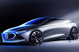 the mercedes benz concept eqa will electrify the show floor in