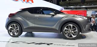 suv toyota chr frankfurt 2015 toyota c hr concept now with five doors