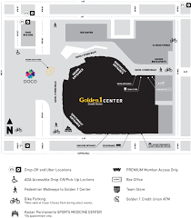 Colorado Area Codes Map by Directions And Parking Golden1center