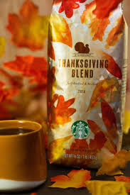 starbucks thanksgiving blend 2014 foodbev media