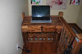 console pour pc portable pallet computer desk u2022 1001 pallets