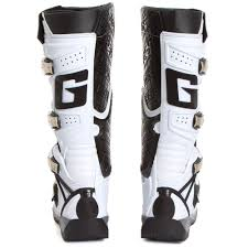 dirt bike riding boots mens new gaerne 2017 mx g react euro dirt bike racing g react white