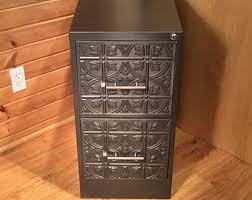 Craft Storage Cabinet Copper U0026 Iron Custom 2 Drawer Vertical File Cabinet Chic